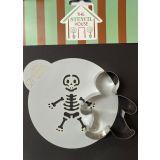 Stencil House Halloween Themed Cookie Stencil