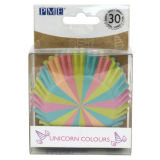 PME Unicorn Colours Foil Lined Baking Cases Pack of 30