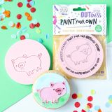 Sweet Stamp OUTboss Paint Your Own - Pig