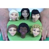 Female Face Base Mould by Rhu Strand