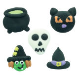 Assorted Halloween Sugar Decorations (Bulk Box 250 Decorations)