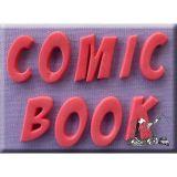 Alphabet Mould - Comic Book Font
