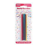 Sparkling Party Candles Pack of 18