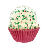 Christmas Cupcake Cases Pack of 75