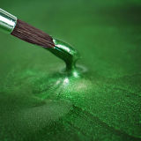 Rainbow Dust Metallic Food Paint - Metallic Green 25ml