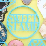 Sweet Stamp Blank Canvas Circle Cutter