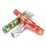 Assorted Metallic Mini Crackers - Pack of 4