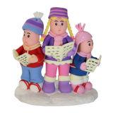 Claydough Carol Singers Cake Topper