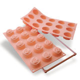 Silikomart Small Rose Mould Set of 15