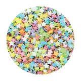 Purple Cupcakes - Tiny Multi Stars 60g