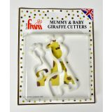 FMM Mummy & Baby Giraffe Cutters - Set of 2