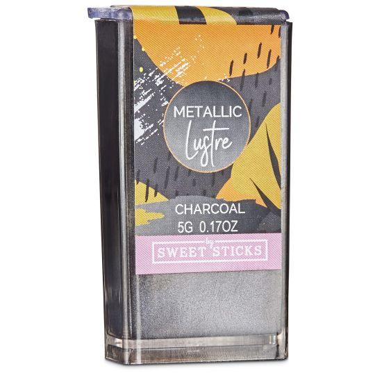 Sweet Sticks Edibleart Metallic Lustre Charcoal 5g