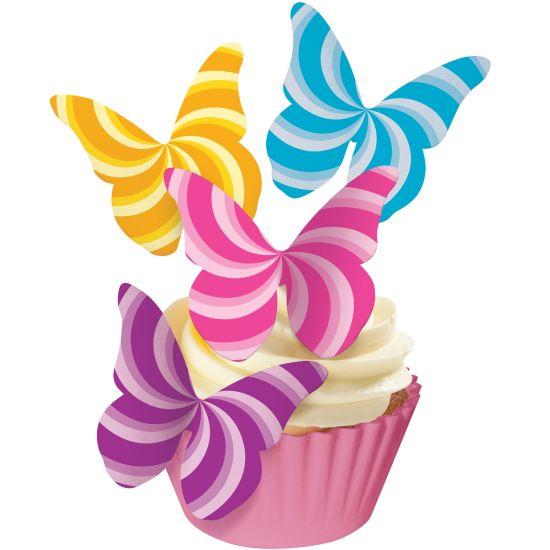 SK Designer Butterflies- Candy Swirls