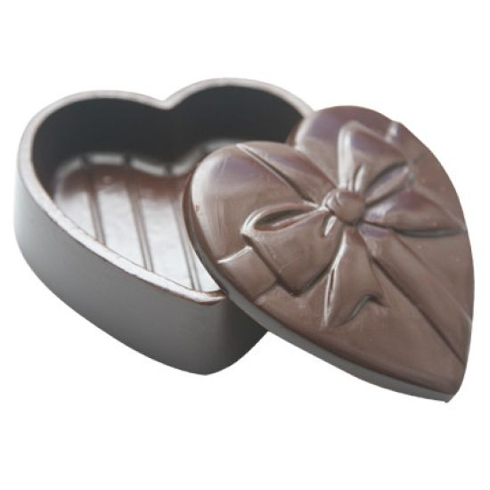 Home Chocolate Factory Chocolate Mould Heart Pour Box