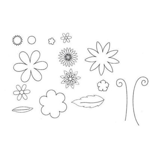 Patchwork Cutter & Embosser Fantasy Flower