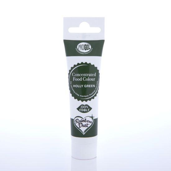Rainbow Dust ProGel Professional Food Colour - Holly Green
