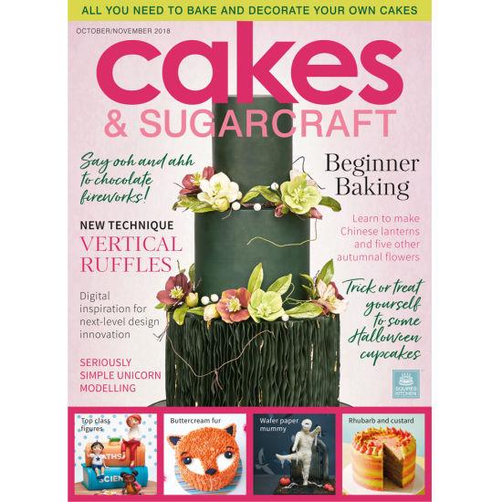 Cakes & Sugarcraft Magazine October/November 2018