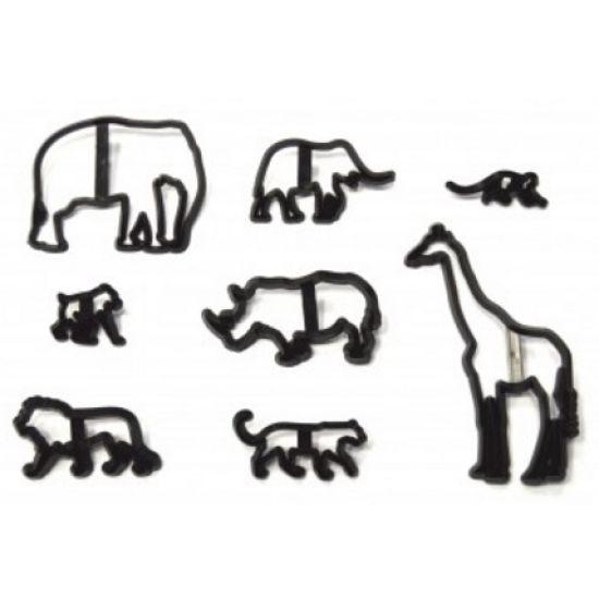 Patchwork Cutter & Embosser Safari Silhouette Set