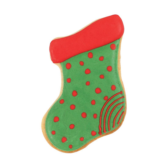 SK Christmas Stocking Cookie Cutter