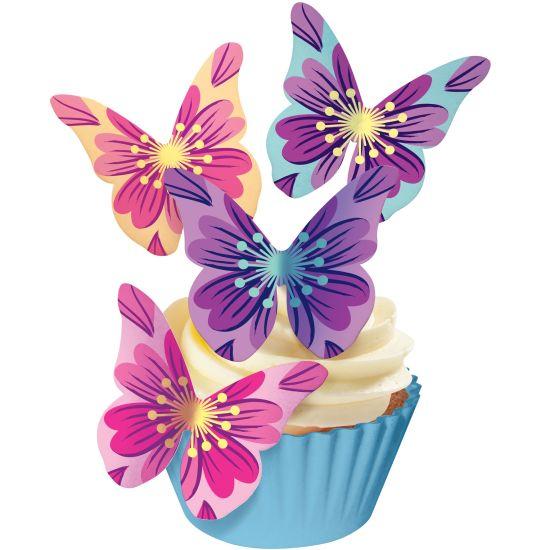 SK Designer Butterflies - Floral Bursts