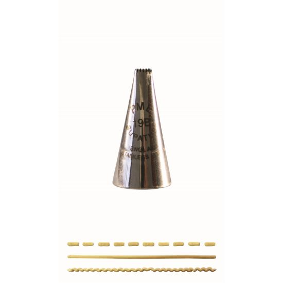 PME Basketweave Piping Nozzle No. 19B
