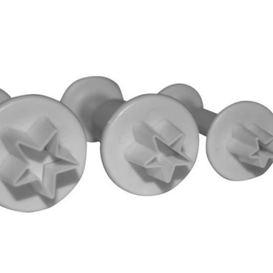 PME Star Plunger Cutters Set of 3