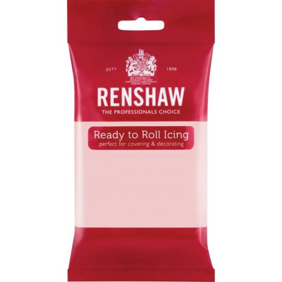 Renshaw Ready to Roll Icing Baby Pink 250g