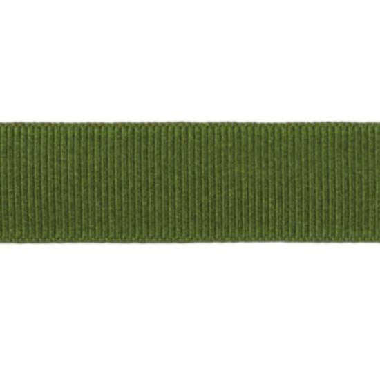 Moss Grosgrain Ribbon 16mm