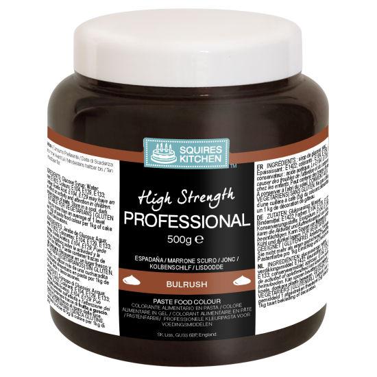 SK Professional Food Colour Paste Bulrush (Dark Brown) 500g