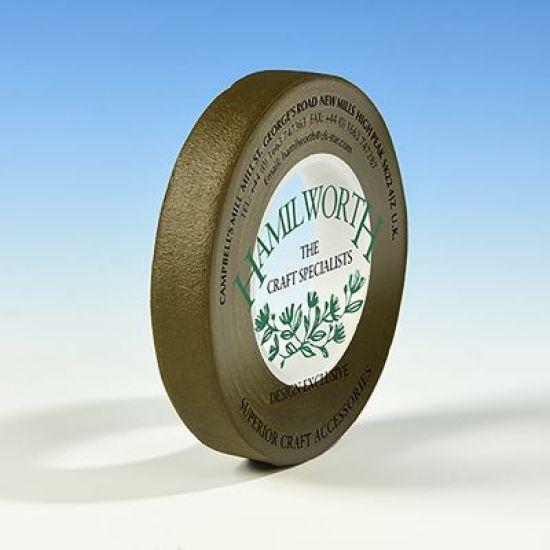 Hamilworth Floral Tape 12mm - Olive Green