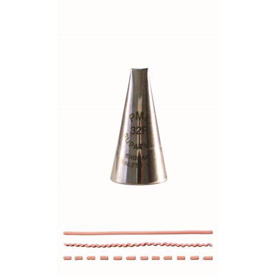 PME Ribbon Piping Nozzle No. 32R (Medium)