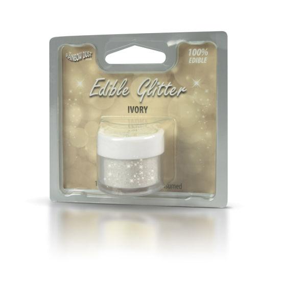 Rainbow Dust Edible Glitter 5g - Ivory