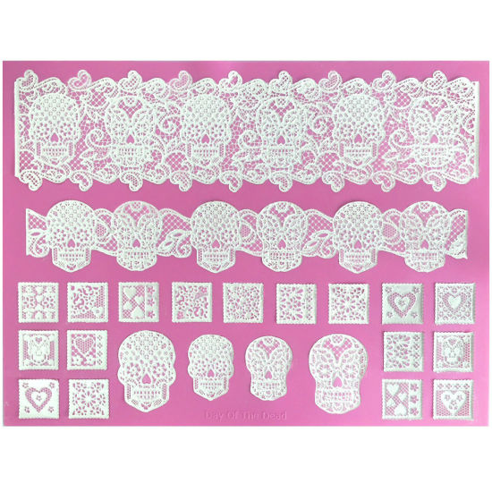 Cake Lace Mat Day of the Dead