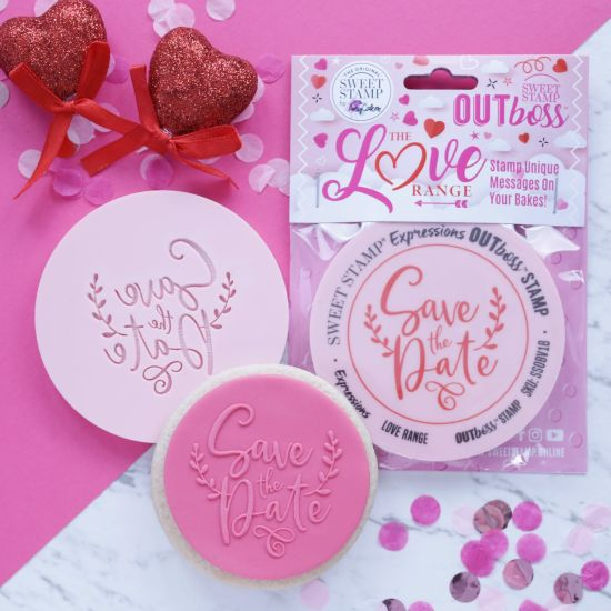 Sweet Stamp OUTboss Love Expressions Save The Date