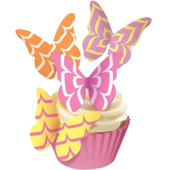 SK Designer Butterflies - Party Icing