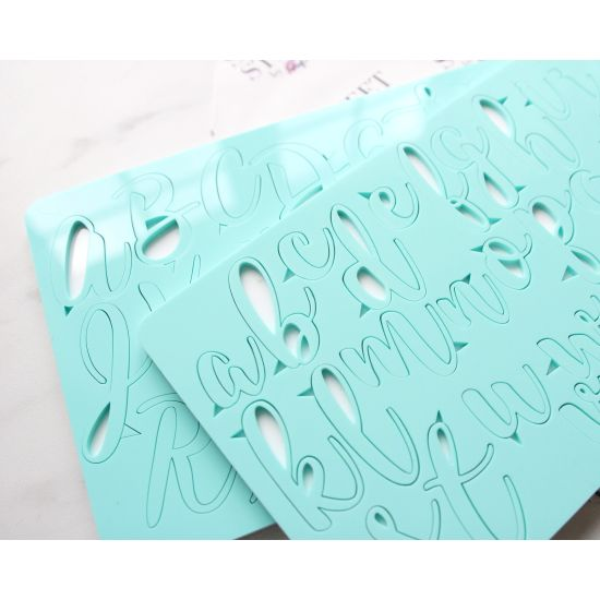 Sweet Stamp Handwritten Embossing Set