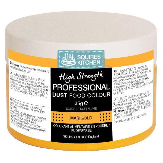 SK Professional Food Colour Dust Marigold (Tangerine) 35g