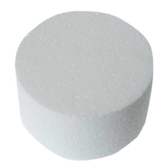 "Round Straight Edged Cake Dummy 4"" - 2"" Deep"
