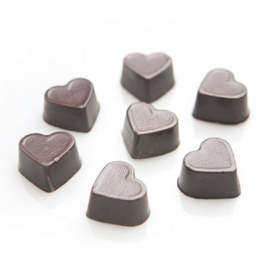 Chocolate Mould Deep Heart Moulds