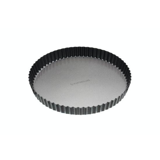 MasterClass Non-Stick 28cm Loose Base Fluted Quiche Tin