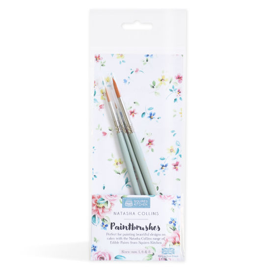 Squires Kitchen Paintbrushes by Natasha Collins