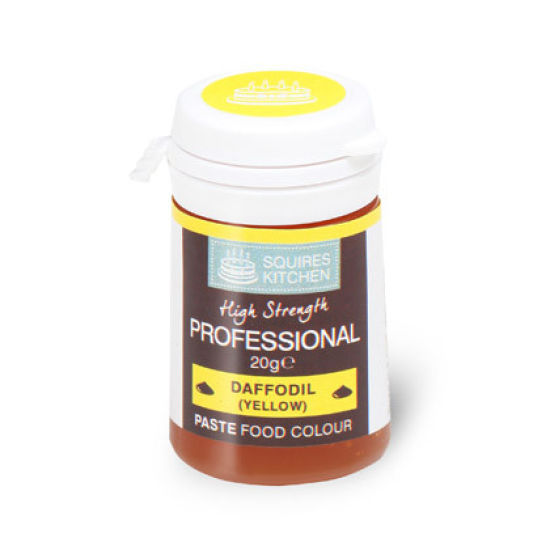 SK Professional Food Colour Paste Daffodil Yellow 20g