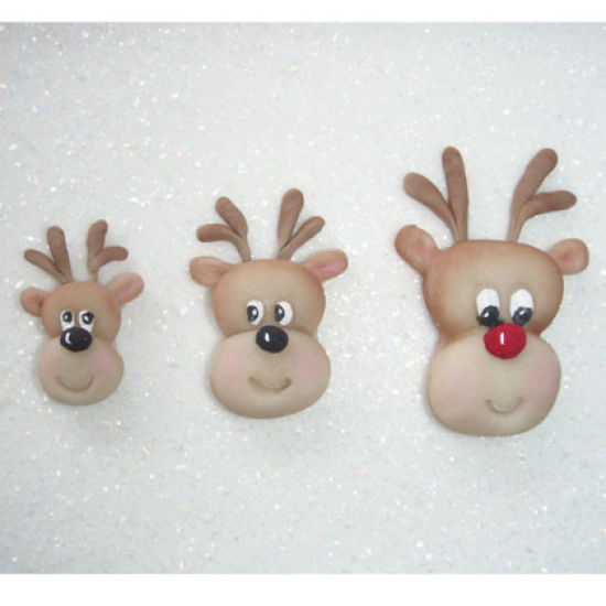 Karen Davies Reindeer Head Mould