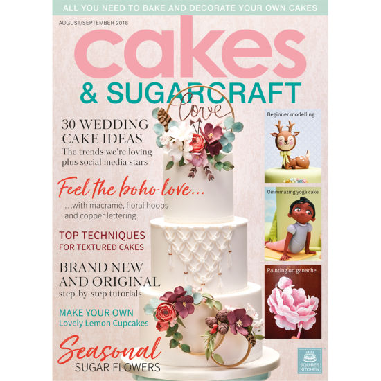 Cakes & Sugarcraft Magazine August/September 2018