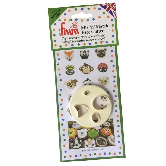 FMM Cutters Mix & Match Animal Faces