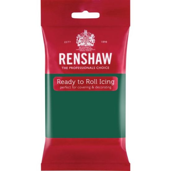 Renshaw Ready to Roll Icing Emerald Green 250g