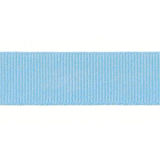 Sky Grosgrain Ribbon 16mm
