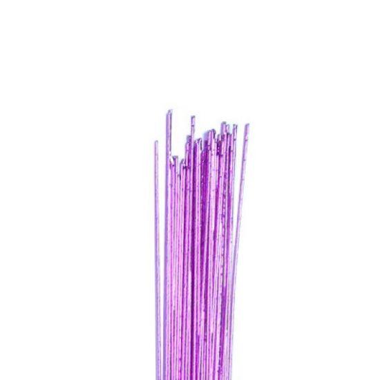 Hamilworth Metallic Floral Wires - Mauve