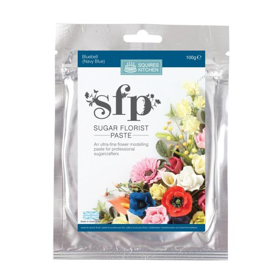 SK SFP Sugar Florist Paste Bluebell (Navy Blue) 100g