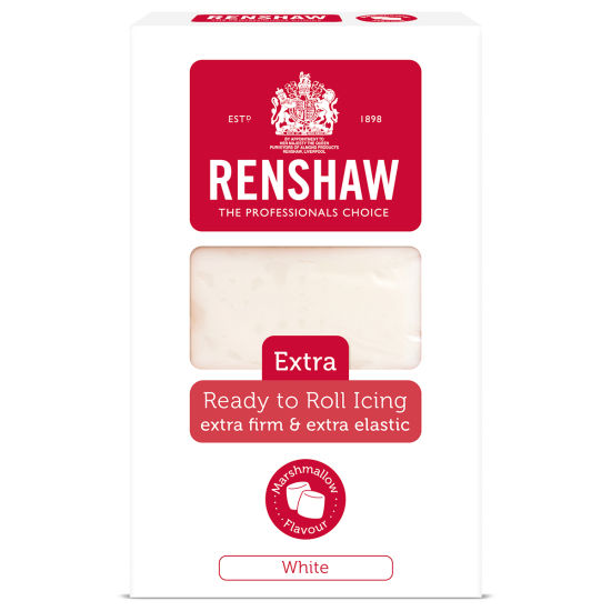 Renshaw Extra Ready to Roll Icing Marshmallow White 250g